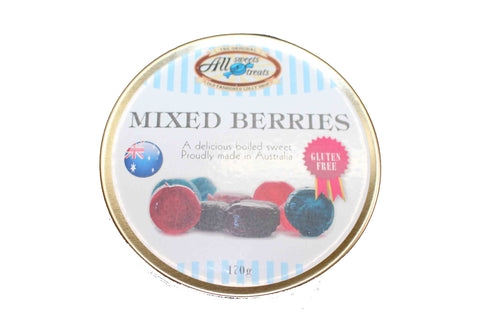 Travel Tins - Mixed  [170g tin] - All Sweets and Treats