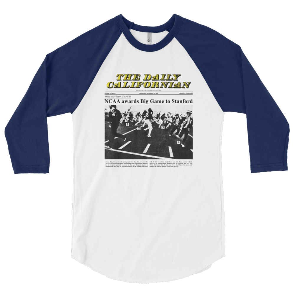 NCAA Overturned Raglan 1982