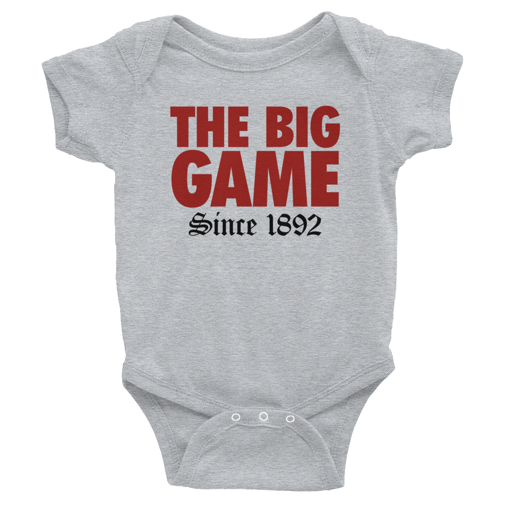 The Big Game Infant Short Sleeve Onesie