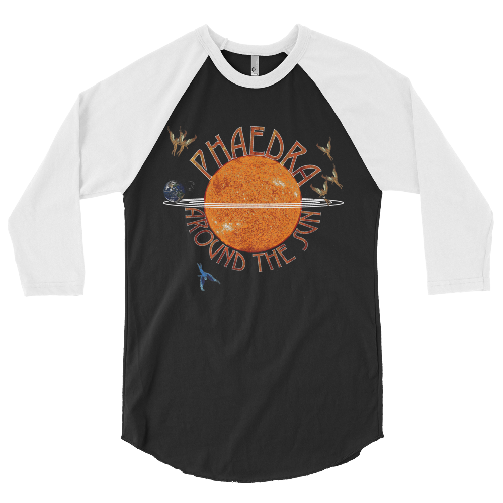 Phaedra Around The Sun 3/4 Raglan Shirt