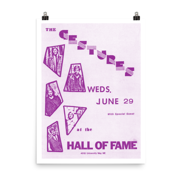 Gestures Hall Of Fame Poster