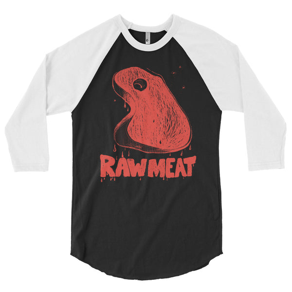 Raw Meat 3/4 Raglan