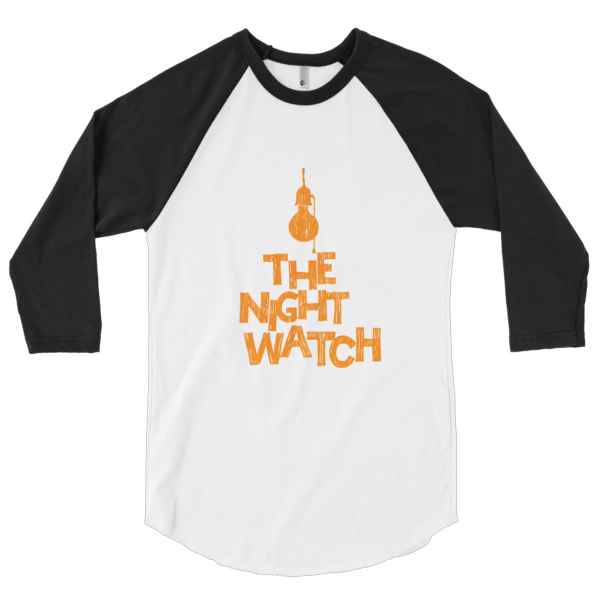 The Nightwatch 3/4 Sleeve Raglan Shirt