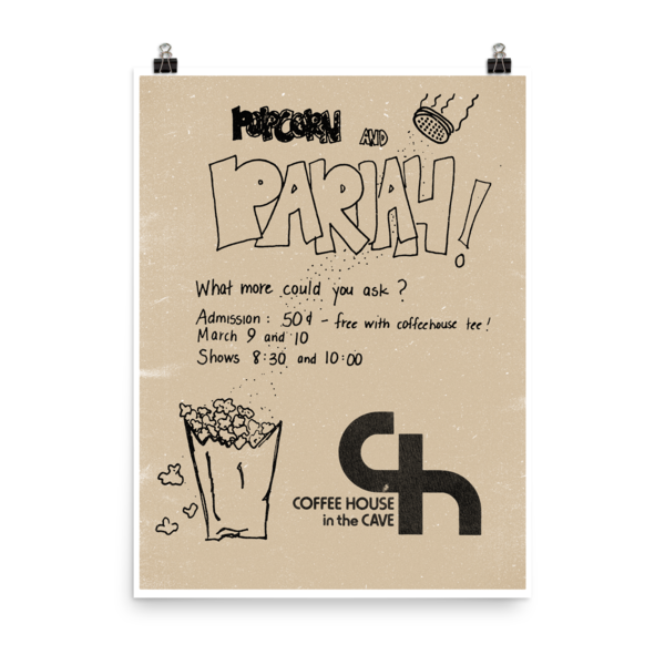 Popcorn With Pariah Poster