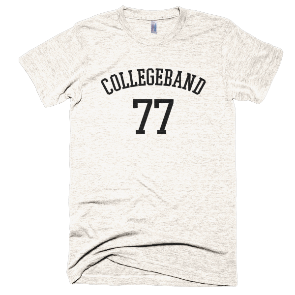 CollegeBand® 77 Vintage T-Shirt Black
