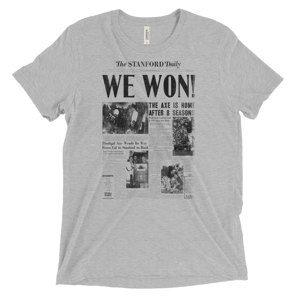 We Won! Vintage T-Shirt 1955