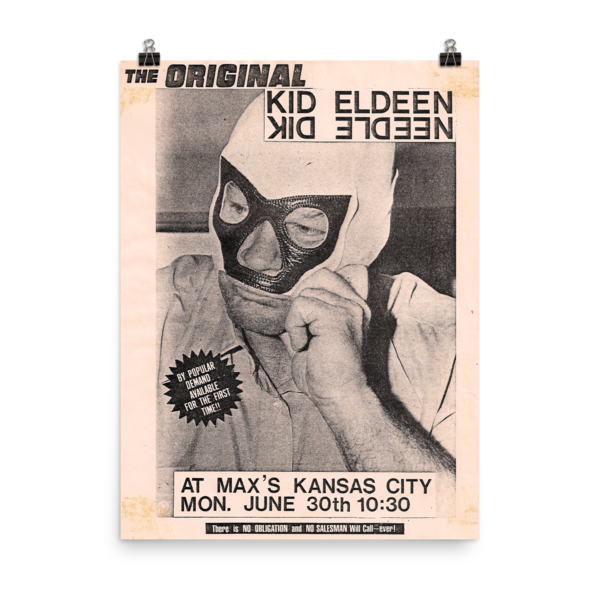 Kid Eldeen Mask Poster