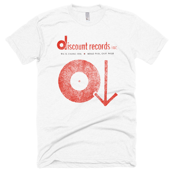 Discount Records Vintage T-Shirt 1972