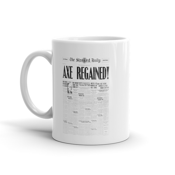 Axe Regained Mug 1930