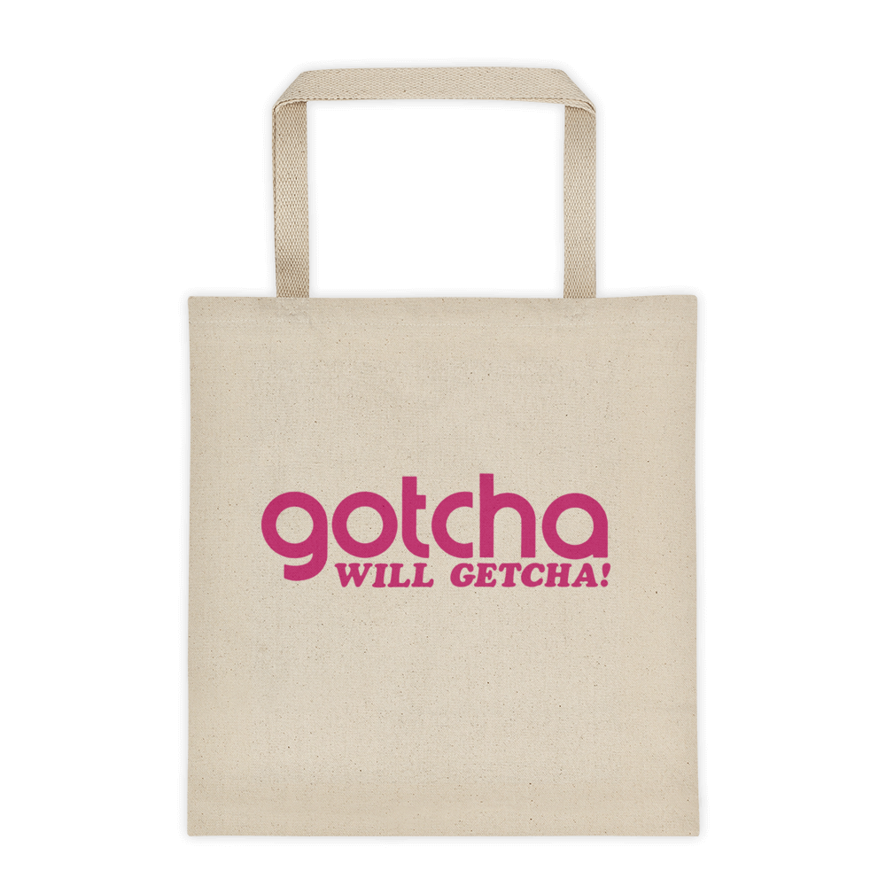 Gotcha Square Bottom Tote