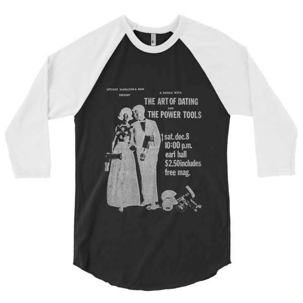 Art Of Dating 3/4 Sleeve Raglan Shirt