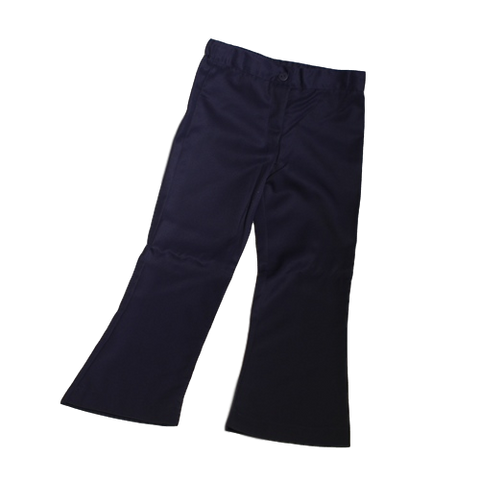 Girls Long Winter Pants - Navy