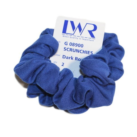 Plain Scrunchie (2 Pk)