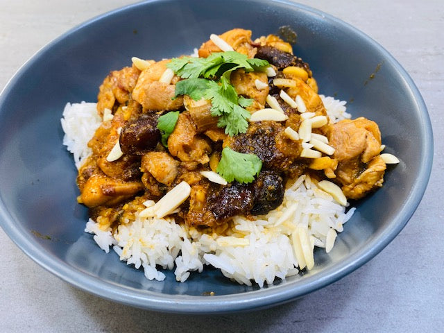 Moroccan Chicken Kasbah with Rice