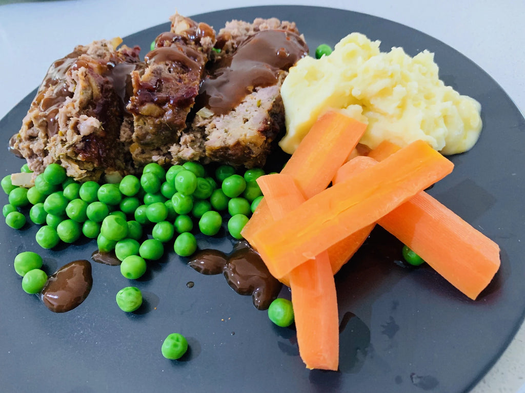 Meatloaf with Mash and Gravy-frozen