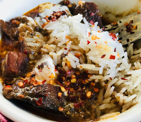Cambodian Beef with Rice-GF