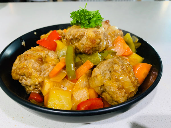 Sweet and Sour Pork Meatballs-frozen