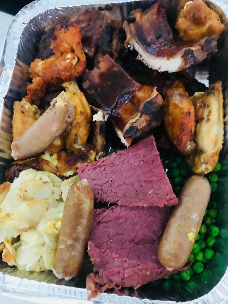 Mixed Meaty Grill and Potato Bake-frozen