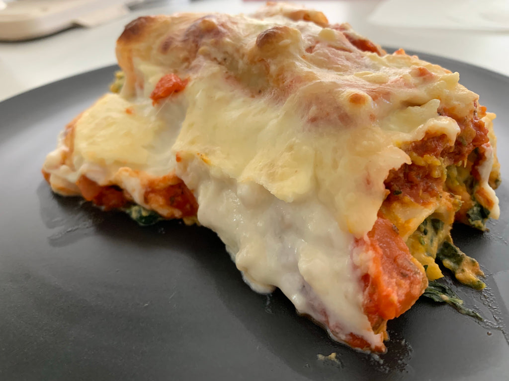Vegetarian Pumpkin, Spinach and Ricotta Cannelloni