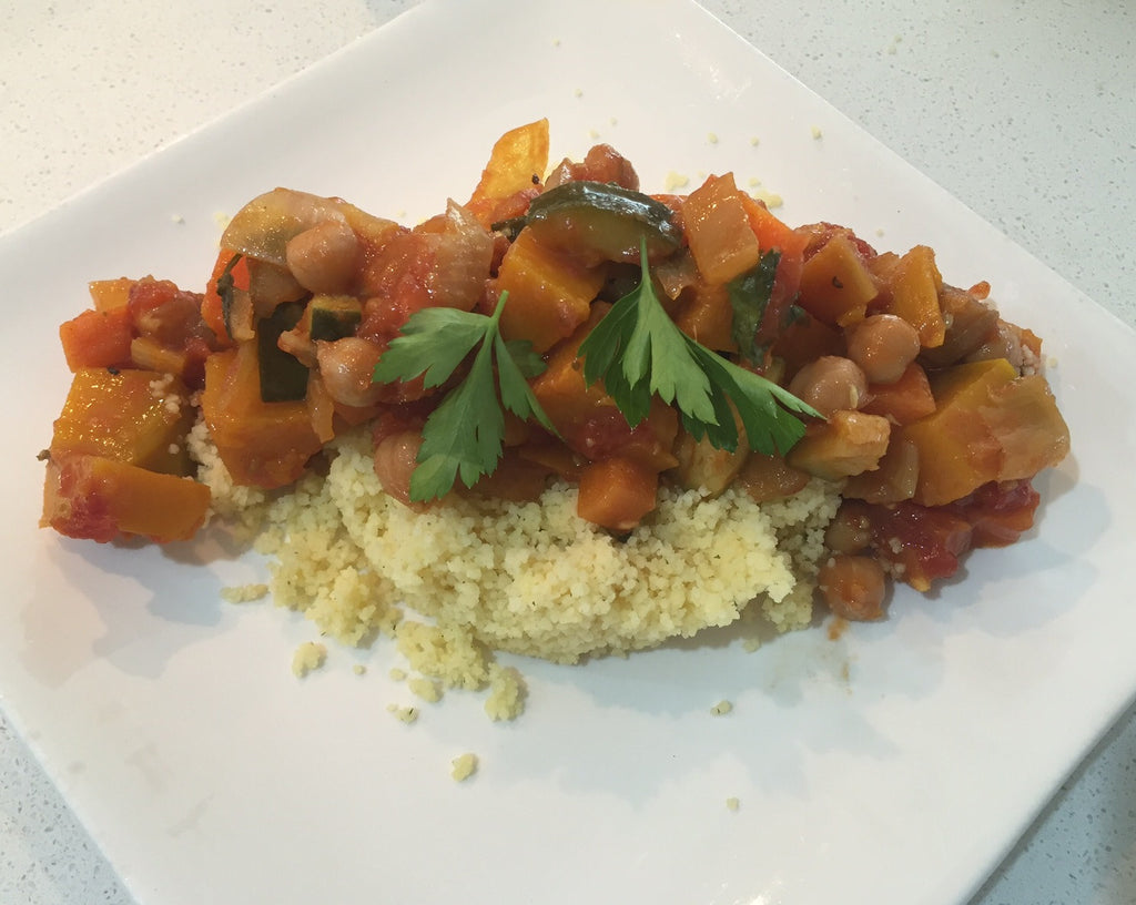 Moroccan Vegetable Tagine - Vegetarian