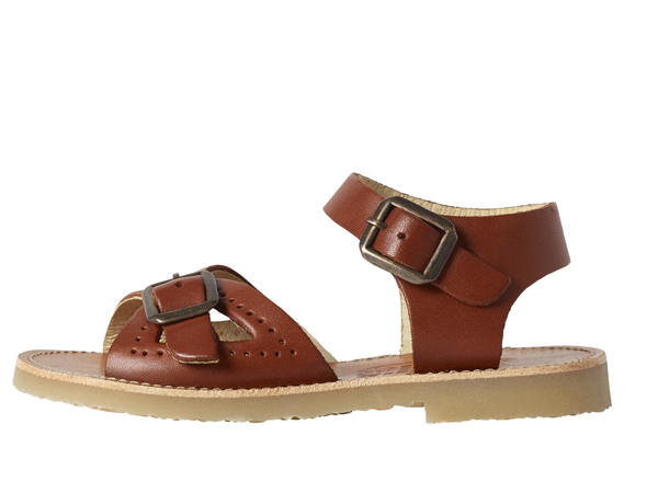 Young Soles | Pearl Sandal - Chestnut Brown