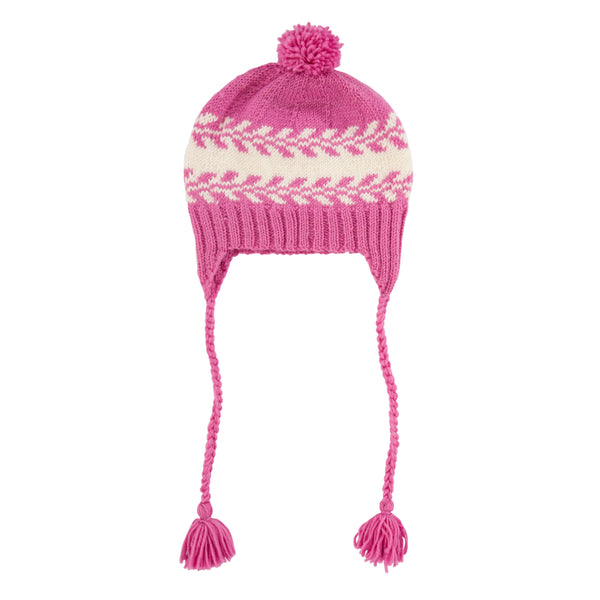 Acorn | Whistler Beanie Pink and Cream