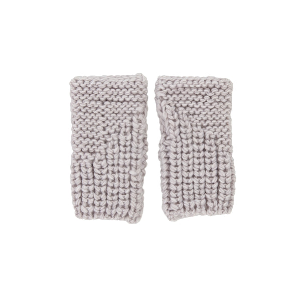 Acorn | Traveller Fingerless Mittens Grey