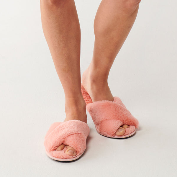 KIP & CO | Blush Pink Slippers WOMENS