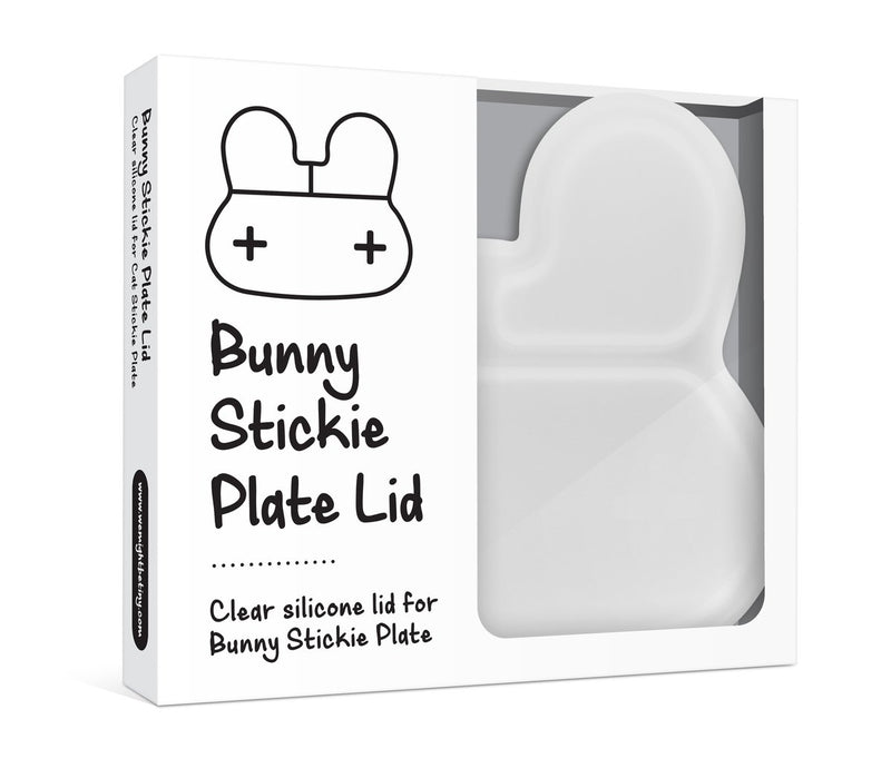 We Might Be Tiny | Bunny Stickie Plate Lid