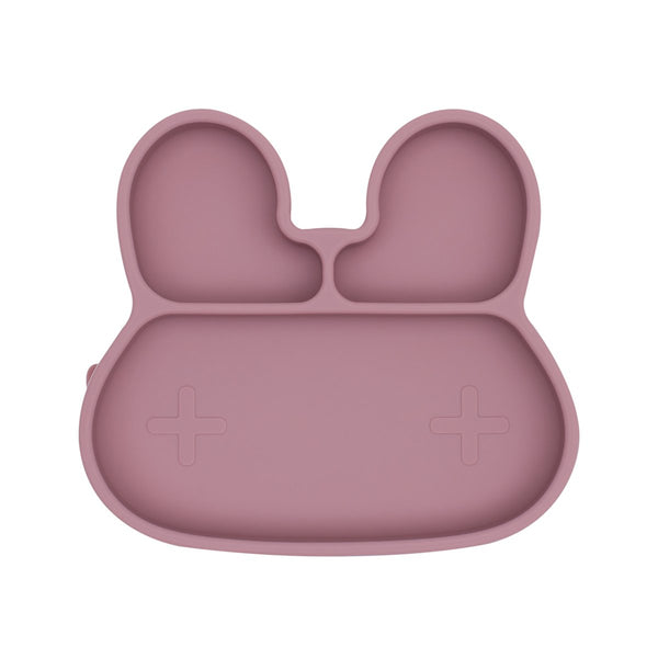 We Might Be Tiny | Bunny Stickie Plate - Dusty Rose