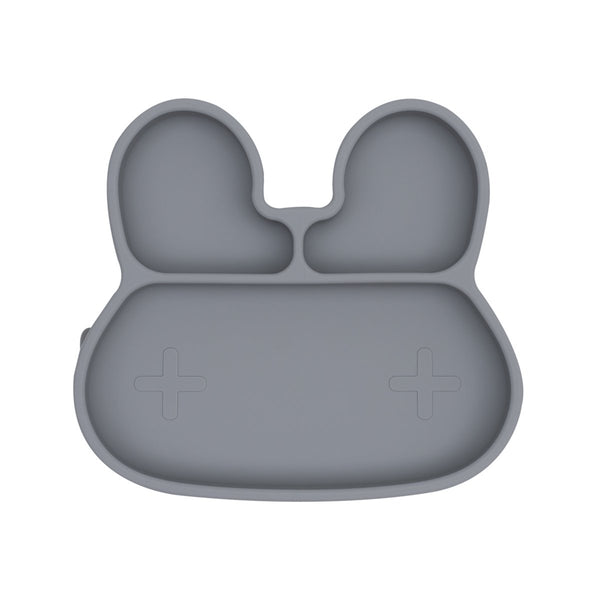 We Might Be Tiny | Bunny Stickie Plate - Grey