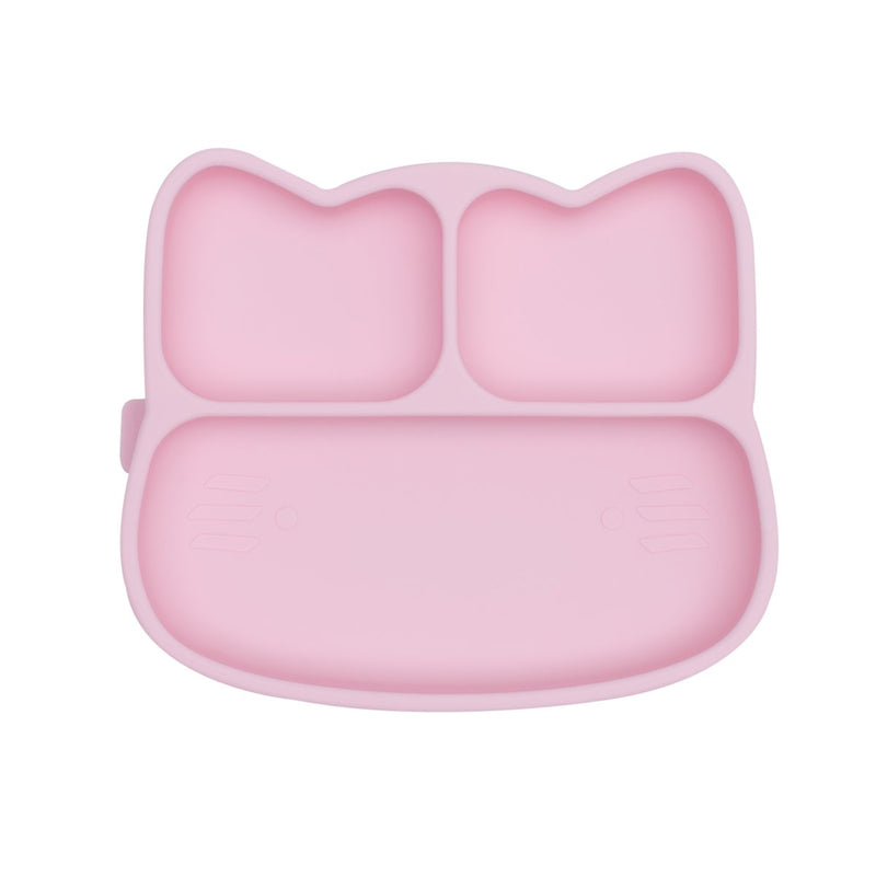 We Might Be Tiny | Cat Stickie Plate - Powder Pink