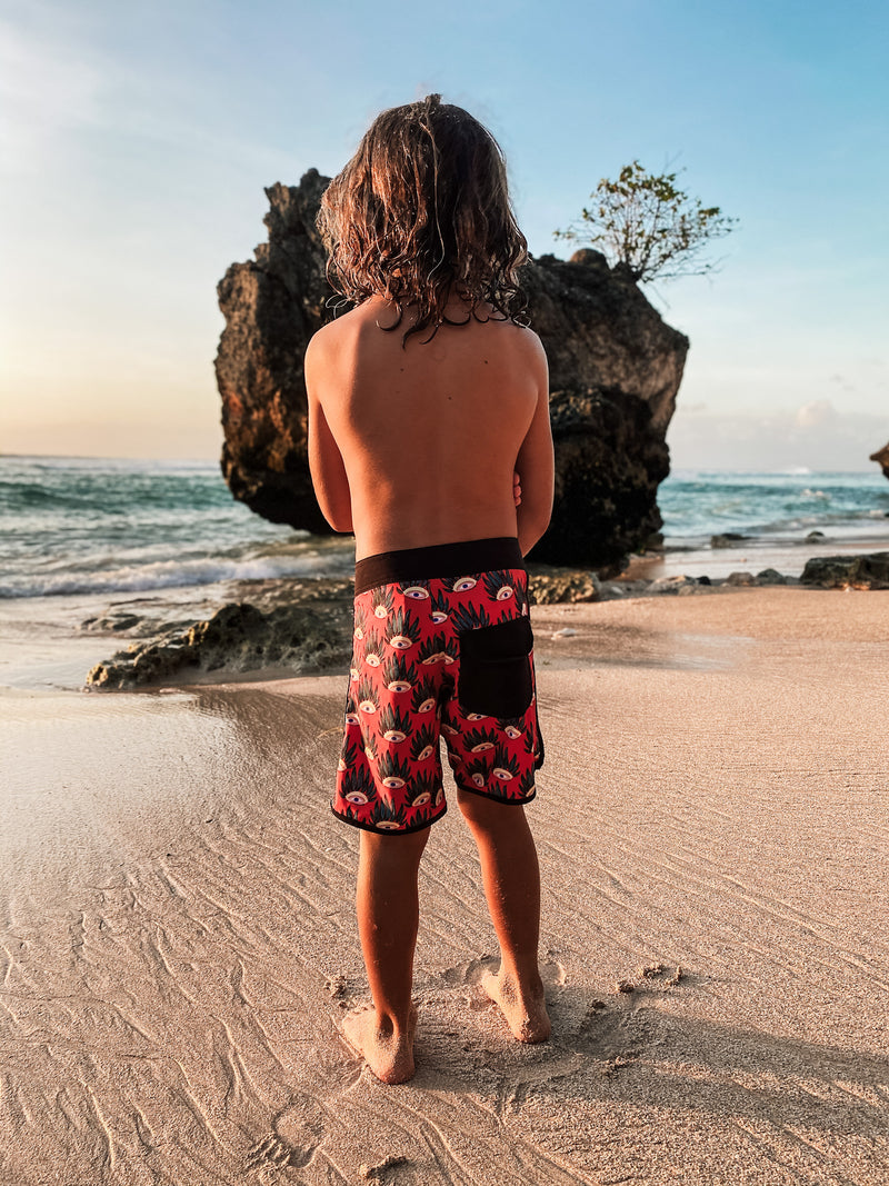 Little Fella Rebels | Eyes Boardshort