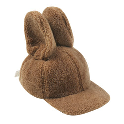 Jelly Mallow |  Rabbit hat - brown