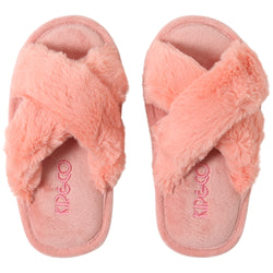 Kip and Co Blush Pink kids slippers