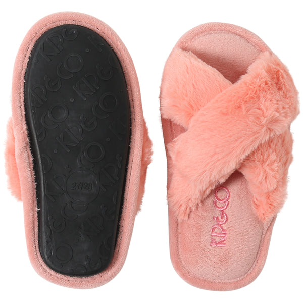 KIP & CO |  BLUSH PINK KIDS SLIPPERS