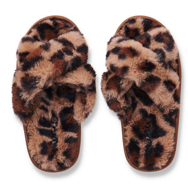 PRE SALE KIP & CO |  CHEETAH KIDS SLIPPERS