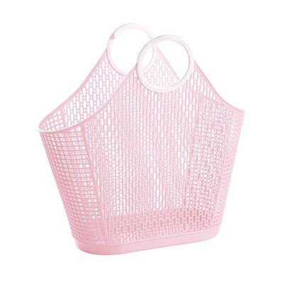 Sun Jellies | Large Fiesta Shopper - Pink