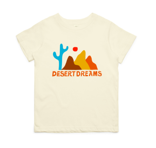 The Vista | Joshua Tree tee 'desert dreaming' - Kids