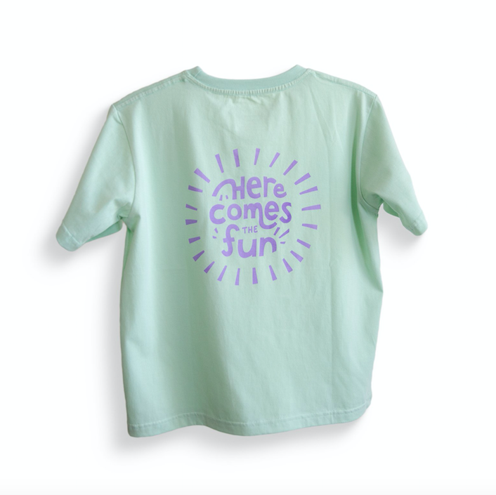 Little Fella Rebels |  Here Comes The Fun T-shirt