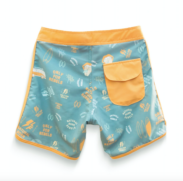 Little Fella Rebels | Little Fella Boardshort