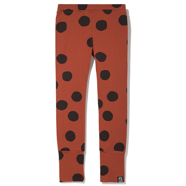 Kukukid | LEGGINGS BROWN DOTS