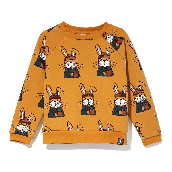 Kukukid | SWEATSHIRT HONEY BEE RABBIT