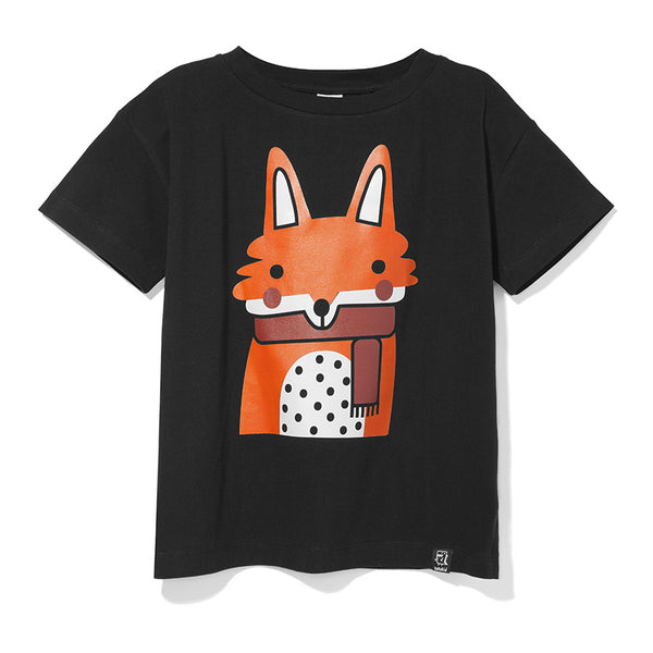 Kukukid | TSHIRT BLACK FOX