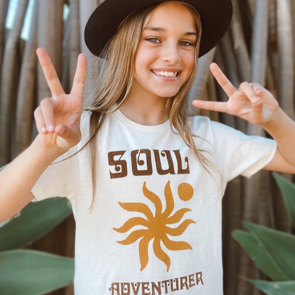 Suede Daze | Soul Adventurer Tee - Natural