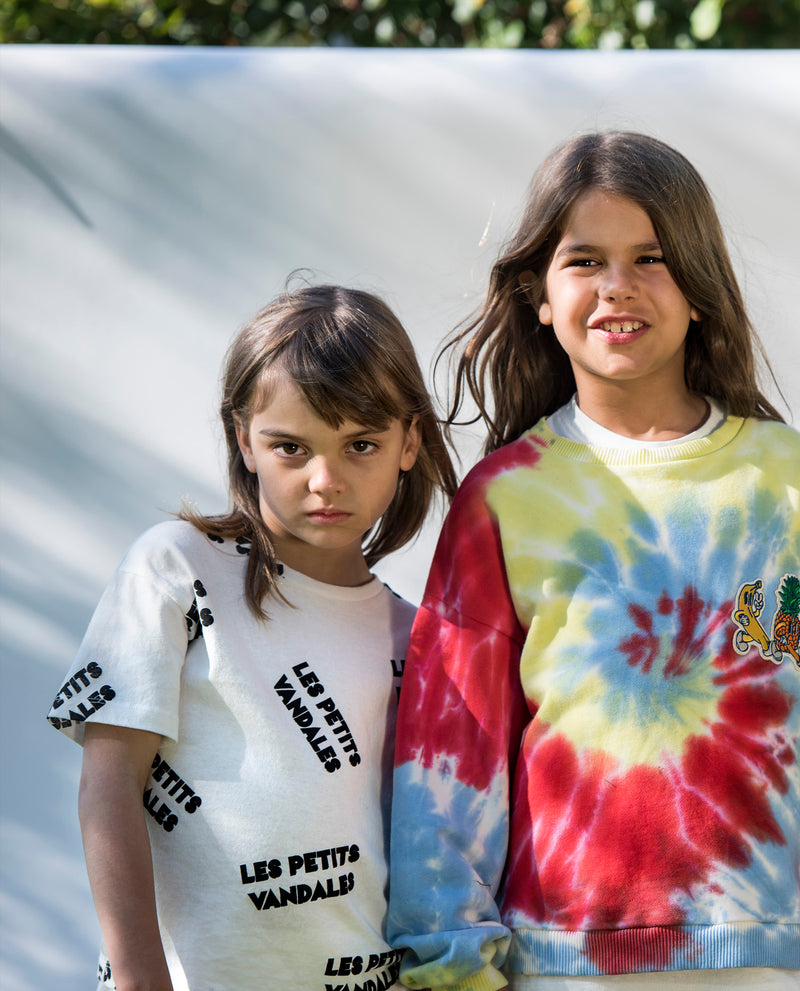 Les Petits Vandales | Brand All Over Tee