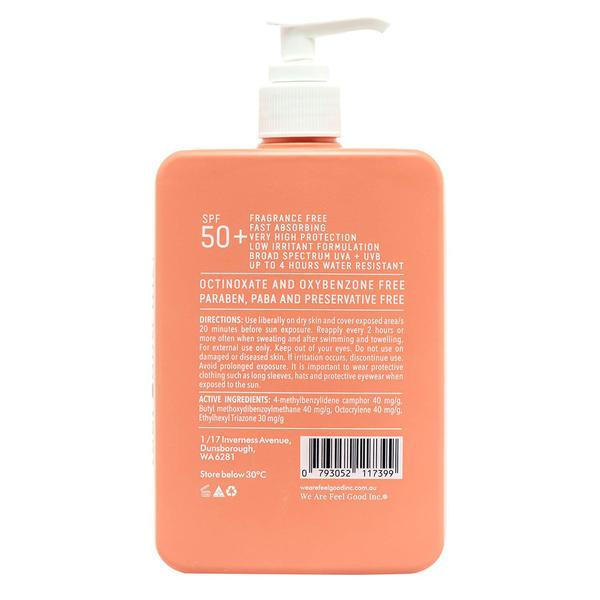 We Are Feel Good | Sensitive Sunscreen SPF 50+ (400ml)