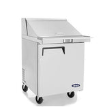 "Atosa MSF8305 28"" Single Door Mega Top Sandwich Prep Unit"