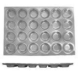 Thunder Group ALKMP024 24 Cup Muffin Pan, 3.5 Oz Each Cup