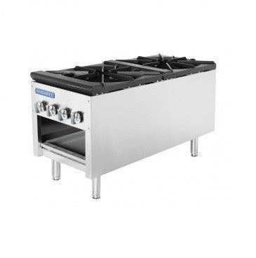 Radiance TASP-18-D Commercial Kitchen Natural Gas Double Stock Pot Range
